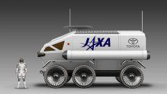 Toyota Lunar Cruiser: laterale