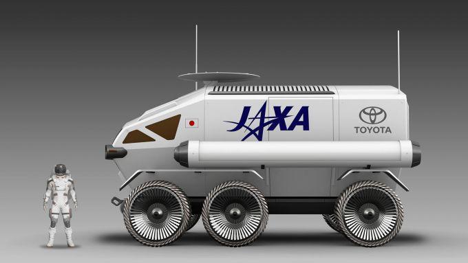 Toyota Lunar Cruiser: le dimensioni