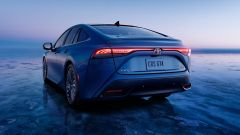 Toyota Mirai 2021: 3/4 posteriore