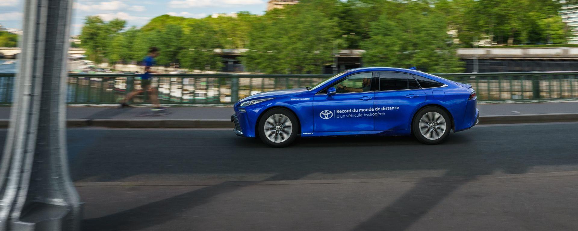 Toyota Mirai 2021: è record di percorrenza