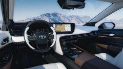 Toyota Mirai 2021: interni, la plancia