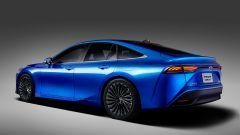 Toyota Mirai Concept: vista di tre quarti posteriore