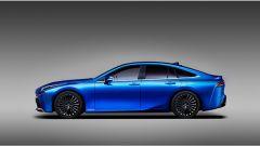 Toyota Mirai Concept: vista laterale