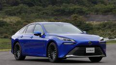 Toyota Mirai è l'auto spinta dall'idrogeno