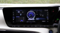 Toyota Mirai: interni, abitacolo e display