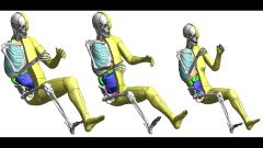 TOYOTA: nuovi umani virtuali da crash test  - Immagine: 1
