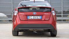 Toyota Prius, il posteriore