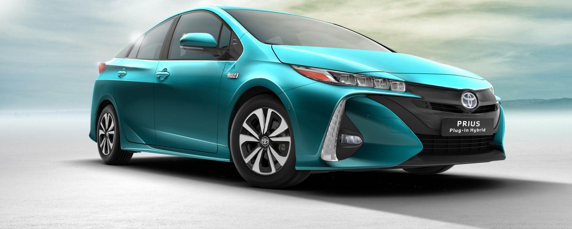 Toyota Prius: ora è anche plug-in