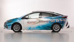 Toyota Prius: 56 km di test a propulsione solare? Si può - Immagine: 2