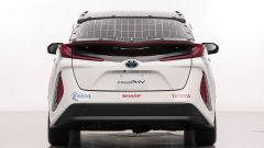 Toyota Prius: 56 km di test a propulsione solare? Si può - Immagine: 4