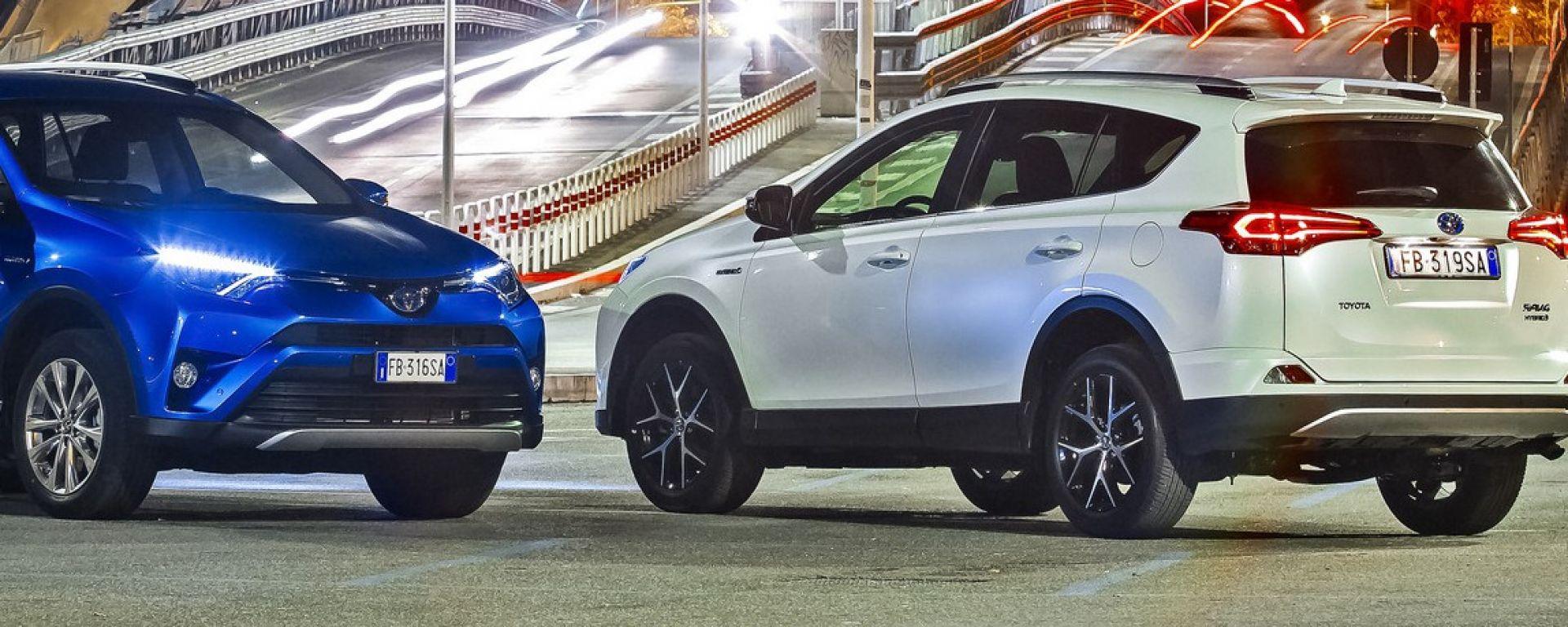 Toyota RAV4 Hybrid 2016: listino ed equipaggiamenti