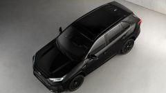 Toyota RAV4 Hybrid Black Edition: vista dall'alto