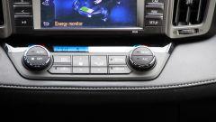 Toyota RAV4 Hybrid: i comandi del climatizzatore