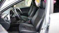 Toyota RAV4 Hybrid: i sedili anteriori