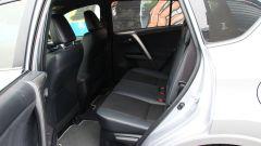 Toyota RAV4 Hybrid: i sedili posteriori
