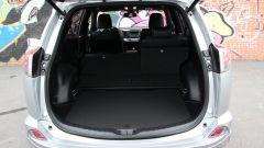 Toyota RAV4 Hybrid: il bagagliaio