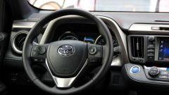 Toyota RAV4 Hybrid: il quadro strumenti con l'indicatore delle batterie al posto del contagiri