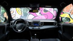 Toyota RAV4 Hybrid: la plancia