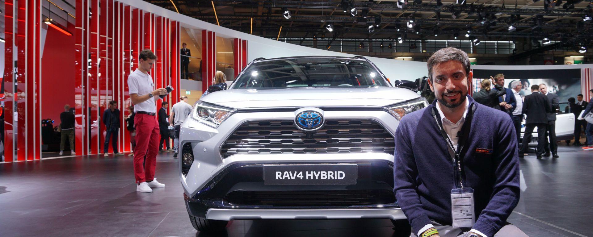 Toyota Rav4 ibrida 2019: in video dal Salone di Parigi 2018