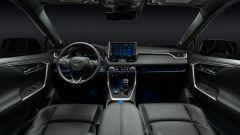 Toyota RAV4 Plug-in Hybrid, gli interni