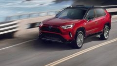 Toyota RAV4 Plug-in Hybrid ha debuttato al Salone di Los Angeles 2019