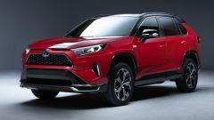Toyota RAV4 Plug-In Hybrid: la prima immagine ufficiale