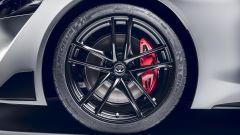 Toyota Supra 2.0 turbo, i cerchi in lega