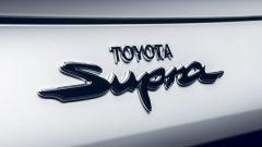 Toyota Supra 2.0 turbo, il badge posteriore