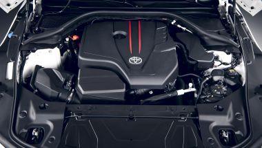 Toyota Supra 2.0 turbo: minore potenza, più agilità