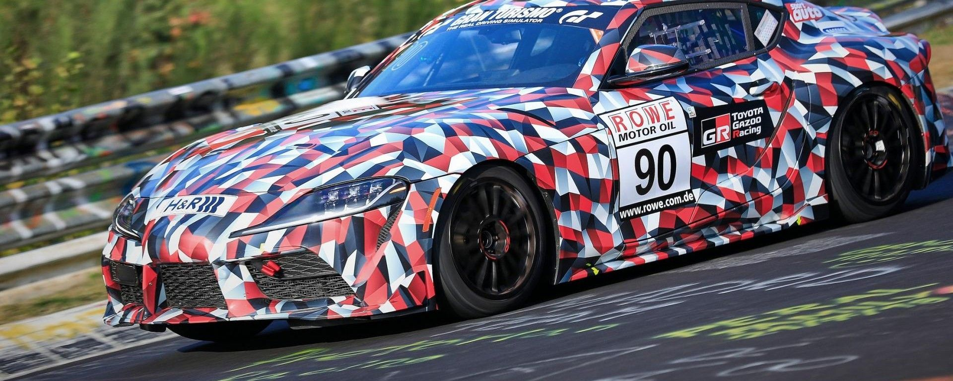 Toyota Supra 2019, le foto spia al Nurburgring