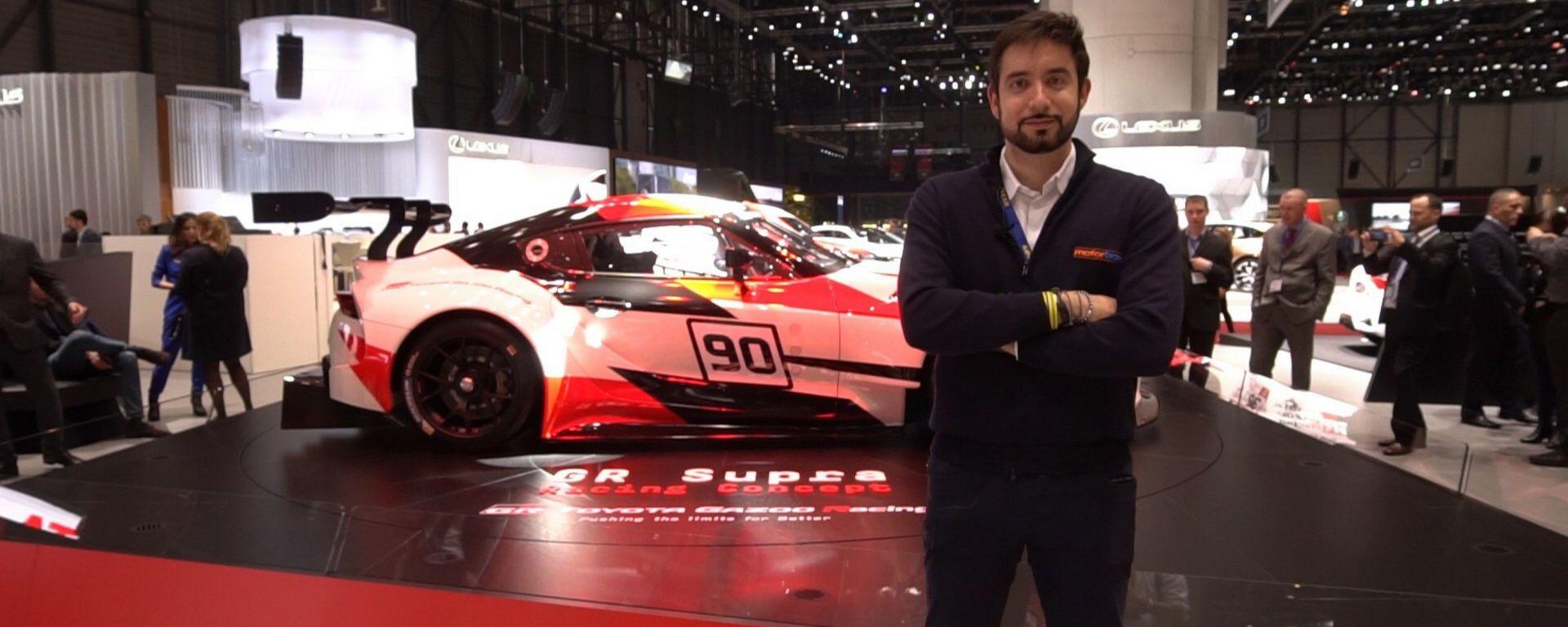 Toyota Supra GR Concept: in video dal Salone di Ginevra 2018