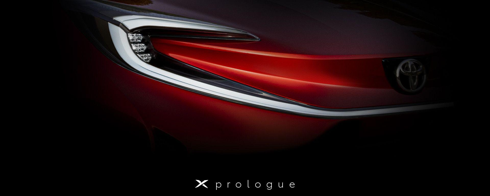 Toyota X prologue, un giro di parole per nuova Toyota Aygo?