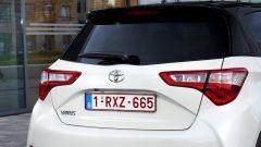 Toyota Yaris 2017: dettaglio dei gruppi ottici posteriori