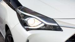 Toyota Yaris 2017: dettaglio del faro anteriore