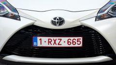 Toyota Yaris 2017: dettaglio del frontale