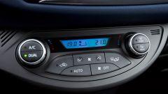 Toyota Yaris 2017: i comandi del climatizzatore