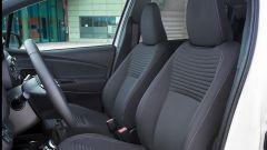 Toyota Yaris 2017: il sedili anteriori