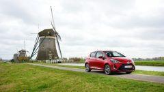 Toyota Yaris 2017 in prova sulle strade olandesi