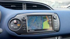 Toyota Yaris 2017: lo schermo dell'impianto infotainment
