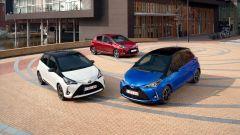 Toyota Yaris 2017, nelle con motori a benzina di 1.0 litro, 1.5 litri e Hybrid