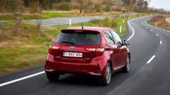 Toyota Yaris 2017: vista posteriore