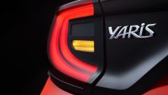 Toyota Yaris 2020, fari posteriori