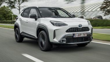 Toyota Yaris Cross 2021: il primo contatto su strada