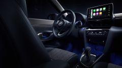 Toyota Yaris Cross, gli interni