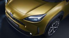 Toyota Yaris Cross, il frontale