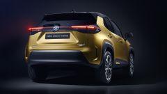 Toyota Yaris Cross, il posteriore