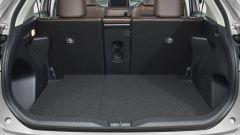 Toyota Yaris Cross, il vano bagagli