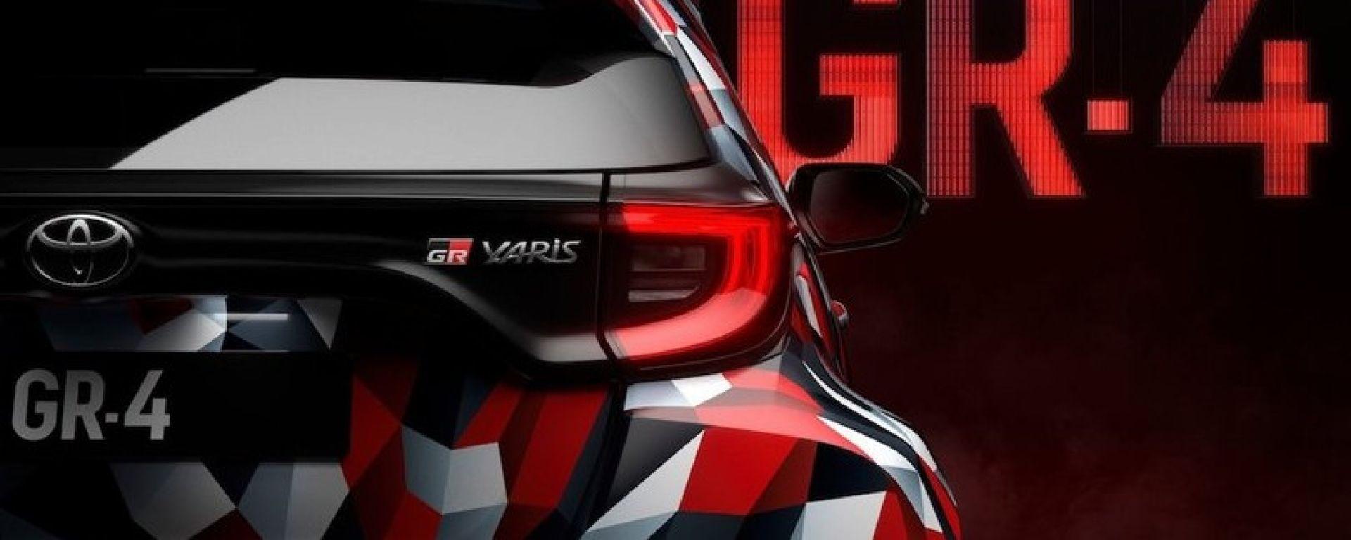 Toyota Yaris GR-4, è in arrivo qualcosa di grosso...
