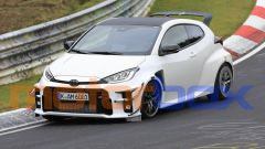 Toyota Yaris GR: pizzicata al Ring una versione più cattiva