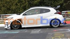 Toyota Yaris GR: visuale laterale